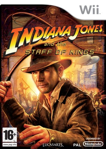 Indiana Jones and the Staff of Kings (Wii) by ACTIVISION