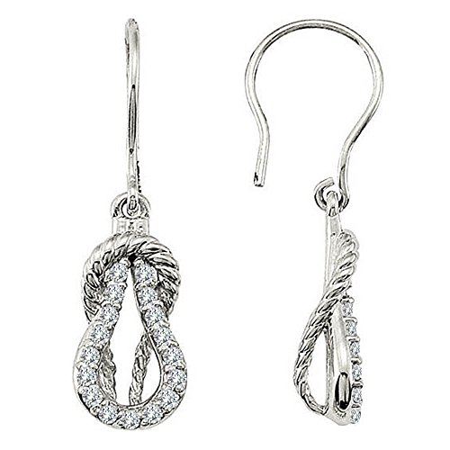 0.34 Ct Diamond Dangle - 5