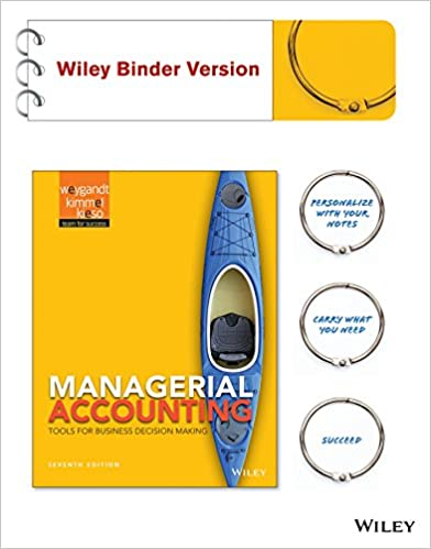 Managerial accounting tools for business decision making 7e binder managerial accounting tools for business decision making 7e binder ready version wileyplus registration card 7th edition fandeluxe Gallery