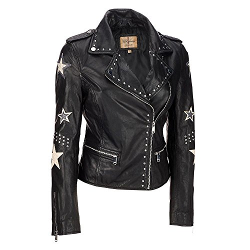 Leather Jackets For Women With Studs - 3