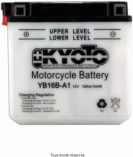 Kyoto Motorcycle battery YB14-B2 CB14-B2 12V 14Ah