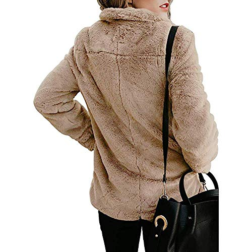 Kaki Manteaux Pour De Ouvert Femmes Chaud Robes Manteau Vêtements Zhrui Veste Avec Poches Mode Hiver Vestes Décontracté Avant Sweats awxqU5t