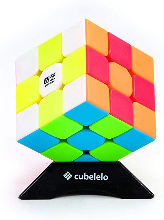Cubelelo Qiyi Warrior [W] 3X3 Stickerless Rubik Speed Cube