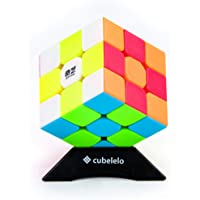 Cubelelo QiYi Warrior W 3x3 Stickerless Magic Speed Cube 3x3x3 Puzzle