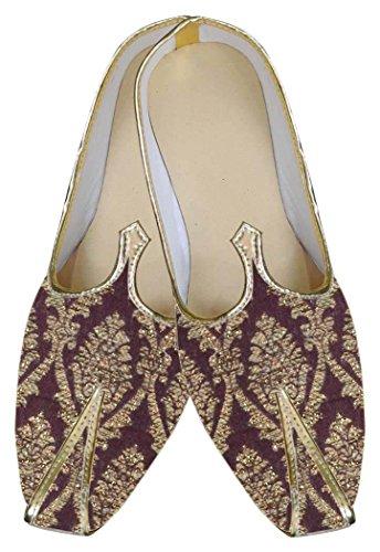 Marrón Zapatos INMONARCH Impresionante Hombres Diseñador MJ0046 q8xfOAB