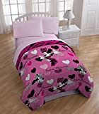 Minnie Mouse 'Classic Glam' Twin Size Comforter