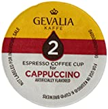 Gevalia Kaffe, 2-Step K-Cup & Froth Packets, 6 Count, 5.6oz Box (Pack of 3) (Cappuccino Espresso) Review