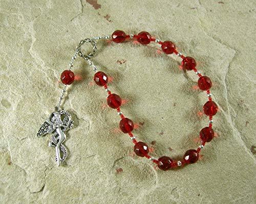 Lilith Pocket Prayer Beads: Sumerian/Babylonian Goddess of Fertility and Free - Goddess Prayer Beads