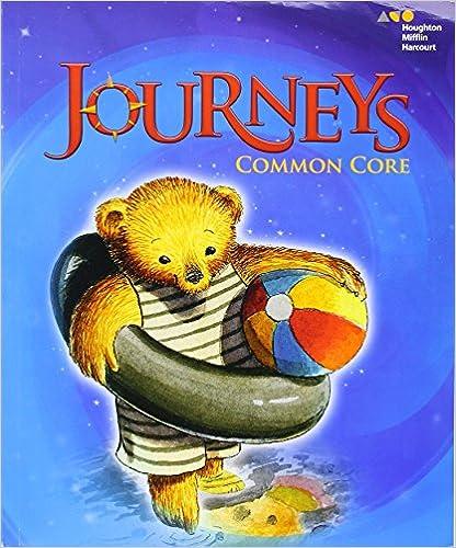 Amazon.com: Journeys: Common Core Student Edition Volume 1 Grade K ...