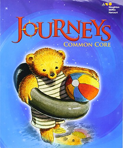 Journeys: Common Core Student Edition Volume 1 Grade K 2014