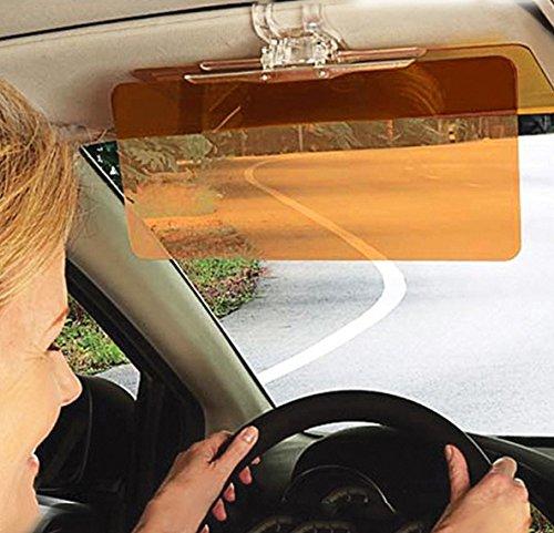 HD-Vision Sonnenblende, Tages- und Nachtvisier, Blendschutz fürs Auto Proteye X Auto-Sonnenblende