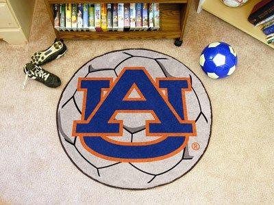 FANMATS NCAA Auburn University Tigers Nylon Face Soccer Ball