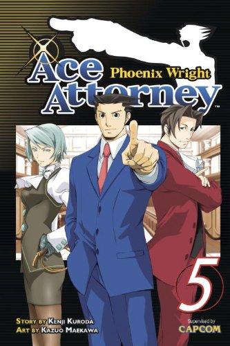 ace attorney 5 - 8
