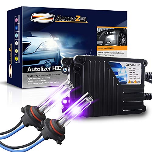 - Autolizer 35W Xenon HID Lights - 9005 9055 H12 (12000K Violet Purple)