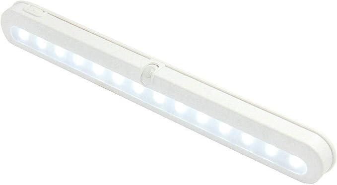 Wireless Battery Closet Cupboard PIR Motion Sensor LED Night Light Lamp Wardrobe