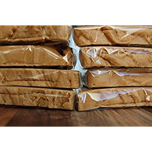 Sea Salt Caramel 2 LB | Gourmet Fudge | The Best Copper-Kettle Fudge | Desserts and Candy | Holiday Gifts 2 LB