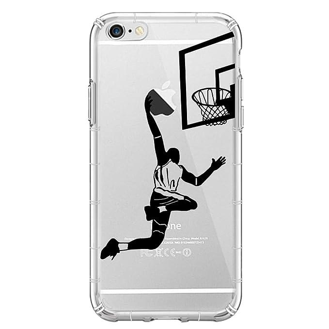 YHong - Carcasa para iPhone 6S, diseño de Baloncesto Impreso de ...