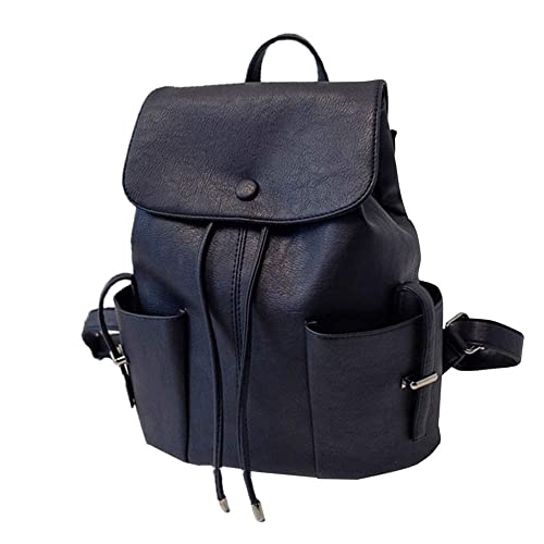 Image Unavailable. Image not available for. Color  AgrinTol Women s Solid  Color Pleated Backpack College Style Duffel Handbag Shoulder Bag 24feb8ef2077f