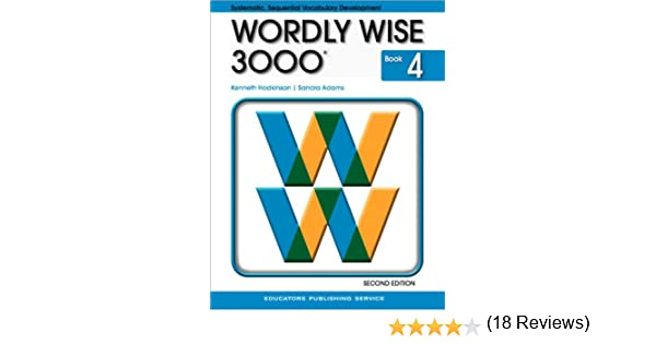 Wordly Wise 3000, Book 4, 2nd Edition: Kenneth Hodkinson, Sandra ...