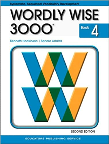 Wordly wise 3000 book 4 2nd edition kenneth hodkinson sandra wordly wise 3000 book 4 2nd edition kenneth hodkinson sandra adams 9780838828229 amazon books fandeluxe Gallery