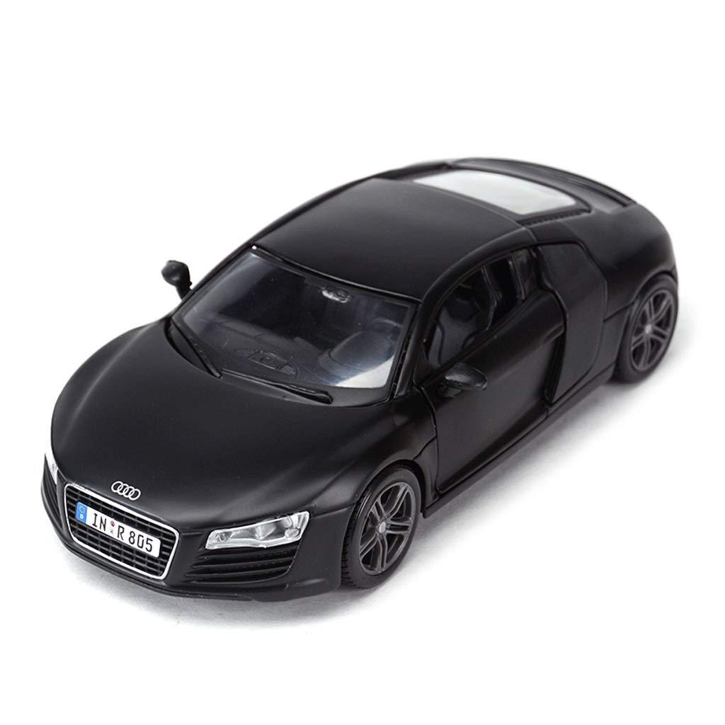 todos los bienes son especiales negro RENJUN RENJUN RENJUN Modelo de Coche Coche 1 24 Audi R8 Simulación Aleación de fundición Adornos de Juguete Deportes Colección de Coches Joyería 18x8x6 CM (Color   azul)  sin mínimo