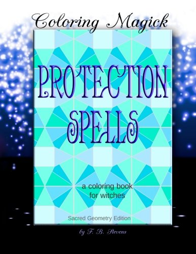 Protection Spells Coloring Witches Geometry