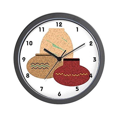 CafePress – Clay Pots – Unique Decorative 10″ Wall Clock Review
