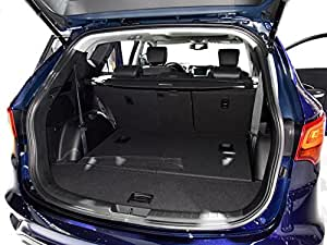 Vesul Black Tonneau Cover Retractable Rear Trunk Cargo Luggage Security Shade Cover Shield For