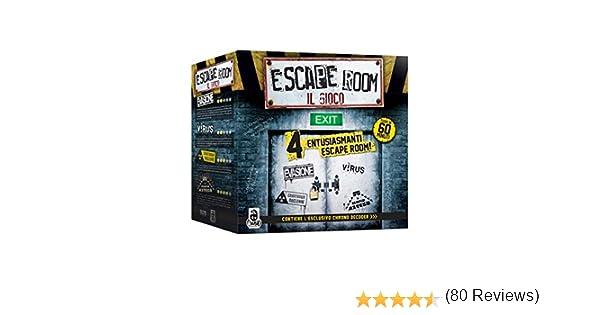 Cranio Creations Escape Room CC111 - Juego de Mesa, Multicolor: Amazon.es: Juguetes y juegos