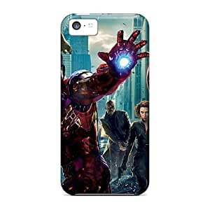 New Style Touching Rhythms The Avengers Premium Tpu Cover Case For Iphone 5c