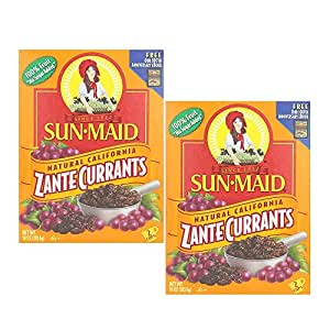Amazon.com : Sun Maid Zante Currants, No Sugar Added, 10 ...