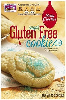 Betty Crocker Baking Mix, Gluten Free Cookie Mix, Sugar, 15 Oz Box (Pack of 6)