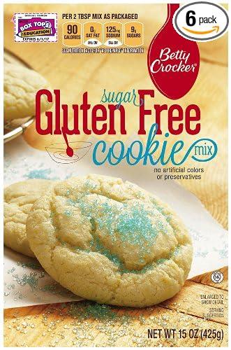 Betty Crocker Baking Mix Gluten Free Cookie Mix Sugar 15 Oz Box Pack Of 6