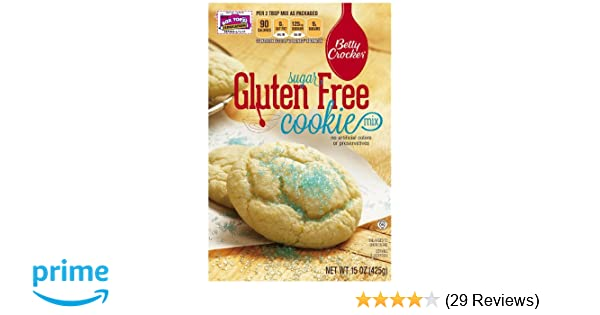 Betty Crocker Baking Mix Gluten Free Cookie Mix Sugar 15 Oz Box Pack Of 6