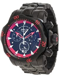 Black Label Special Limited Collectors Edition Reserve Venom Stealth Chronograph Stainless Steel Case and Bracelet Black Dial
