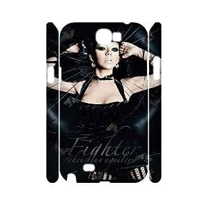 LGLLP Christina Aguilera Phone case For Samsung Galaxy Note 2 N7100 [Pattern-4]