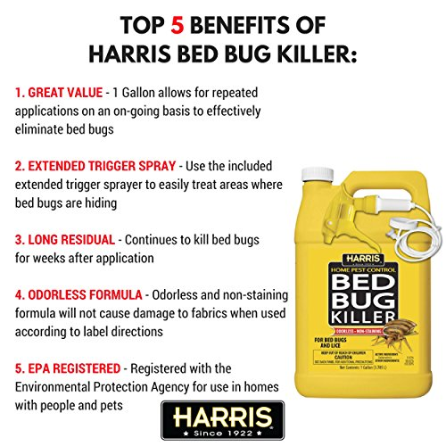 Review Harris Bed Bug Killer,