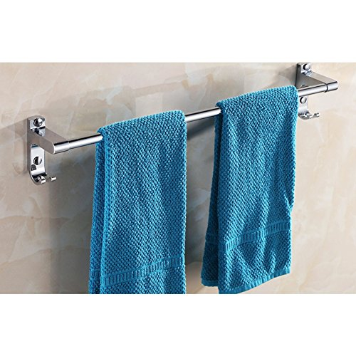 outlet Stainless steel wall mounted Towel Bar/Bathroom Towel Bar/pole pole/bath towel rack/towel rack/Bathroom Accessories/Pole-K