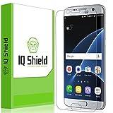 #8: Galaxy S7 Edge Screen Protector, IQ Shield LiQuidSkin Full Coverage Screen Protector for Galaxy S7 Edge HD Clear Anti-Bubble Film - with