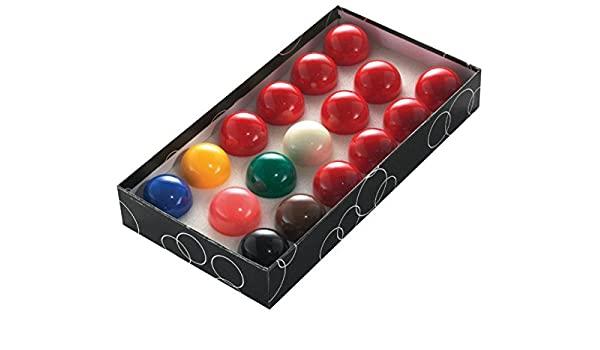 Juego bolas snooker economica 52. 4mm: Amazon.es: Deportes y aire libre