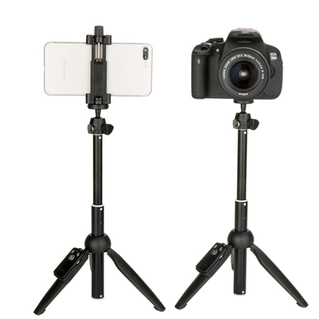para c/ámara Go-Pro accesorios para tel/éfonos m/óviles port/átil inal/ámbrico Tr/ípode para selfie con mando a distancia y Bluetooth