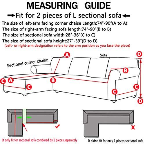 Amazon.com: Obokidly Anti-Wrinkle Velvet Sectional Sofa ...