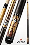 Valhalla by Viking VA502 Pool Cue Stick European Stain Turquoise HD Graphic Transfers 18, 18.5, 19, 19.5, 20, 20.5, 21 oz. (19.5)