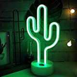 Green Cactus Neon Light Signs LED Cactus Neon