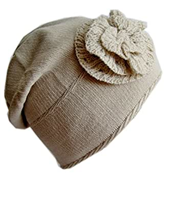 Frost Hats Winter Hat for Women and Girls BEIGE Slouchy