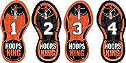 HoopsKing Basketball Footwork Training Steps, Improve Basketball Skills, Learn to Dance