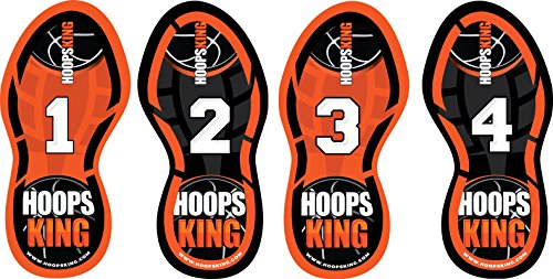 HoopsKing Basketball Footwork Training Steps, Improve Basketball Skills, Learn to Dance – DiZiSports Store
