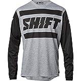 Shift Racing R3con Drift Strike Men's Off-Road Motorcycle Jerseys - Medium/Light Grey