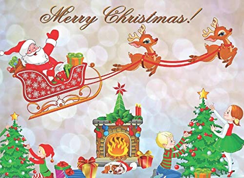 Merry Christmas: Christmas Guest Book To Write In. Children bring the joy of Christmas to any home (Merry Christmas To My Best Friend Card)