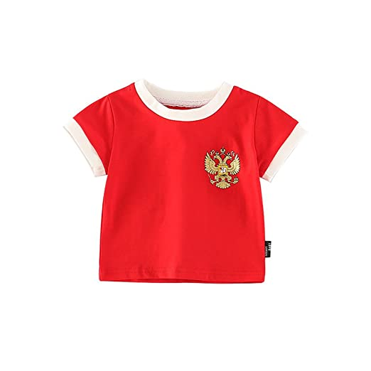 Fairy Baby Toddler Baby Boys Girls World Cup Football Soccer Jersey Shirts  Summer Outfit Clothes Size 343405924